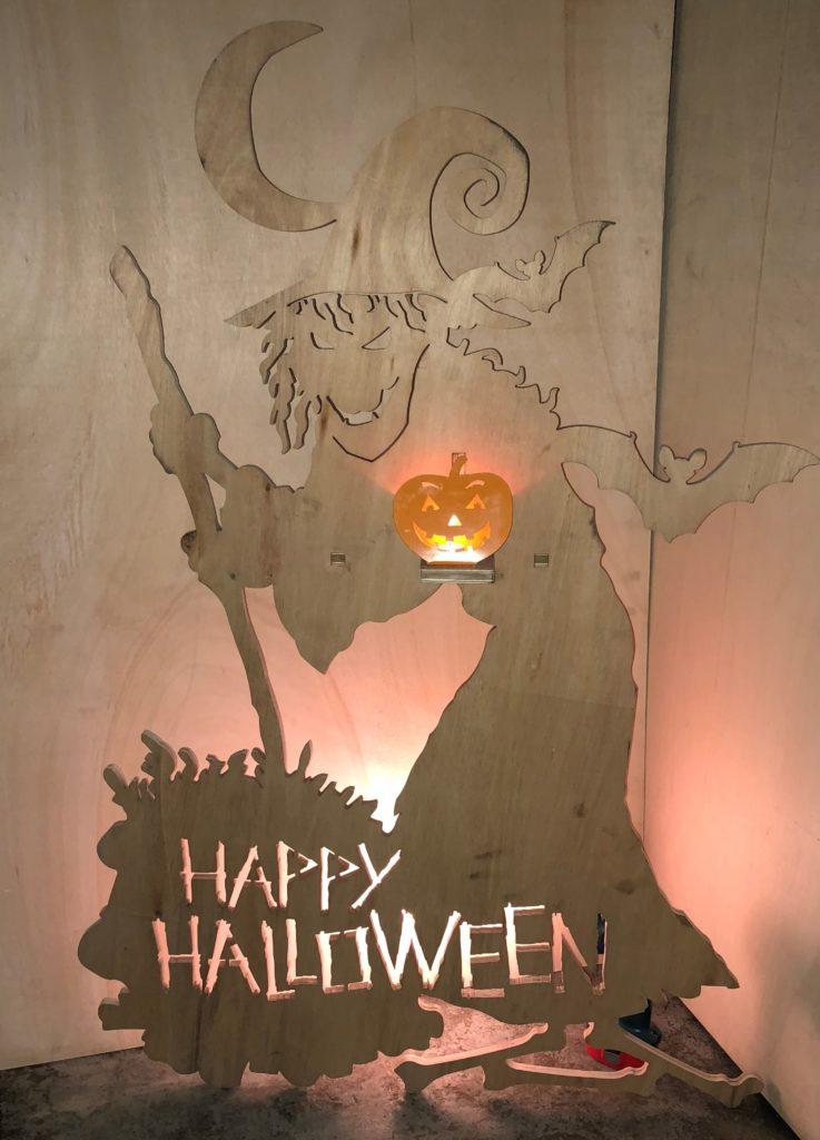happy halloween prop in 18mm plywood