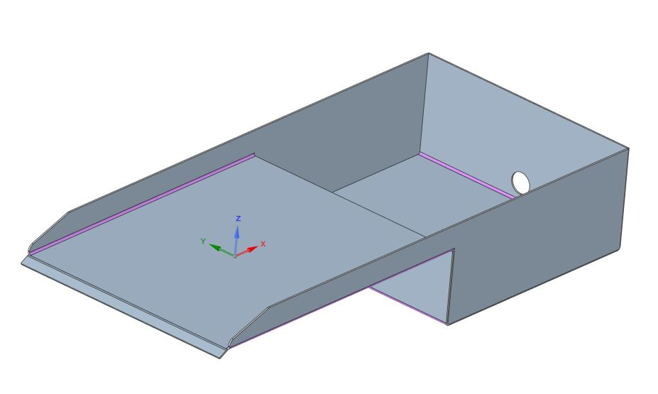 fountain inlet reservoir cad design in progress