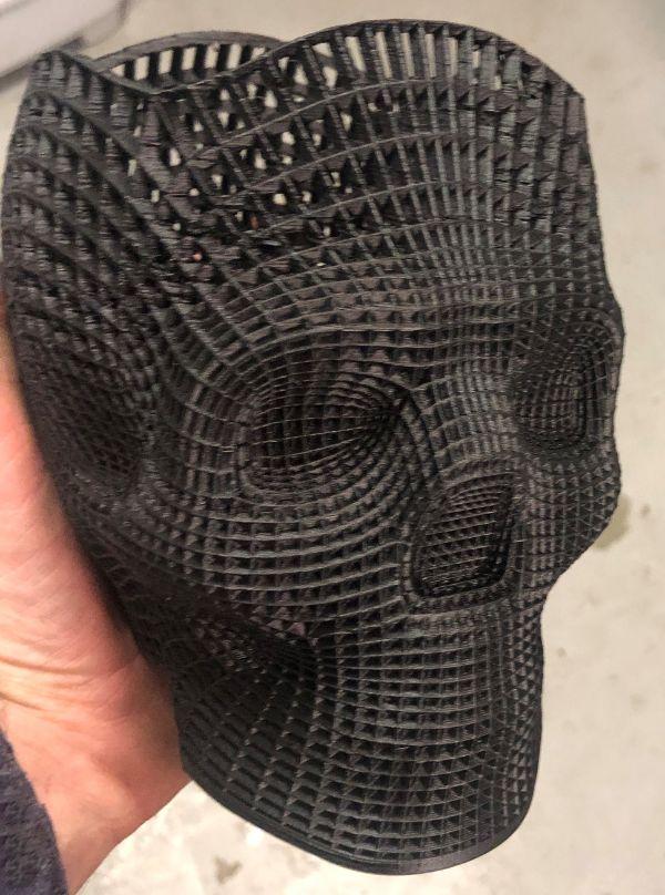 Alas poor yorick macbeth hamlet 3d printed skull