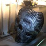 full size 3d printed skull