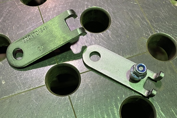 modifications to lug keeps for a genio pro bike rack made by Atera