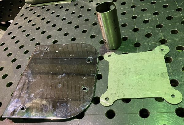 stainless steel material and parts ready for fabrication