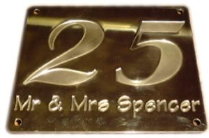 high quality brass engravings in southampton